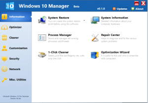 Windows 10 Manager Crack 3.2.1 With Torrent Download 2020