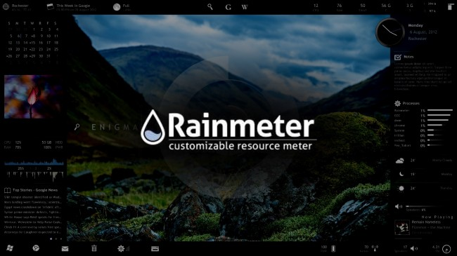 Rainmeter Crack 4.3.1 + Licence Key Full Torrent Download 2019 Free