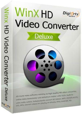 WinX HD Video Converter Deluxe crack 5.15.4 +Full Torrent Download 2019