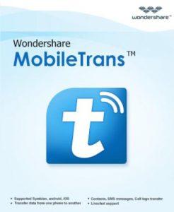 Wondershare MobileTrans 8.9 With Keygen Full Torrent Download 2020