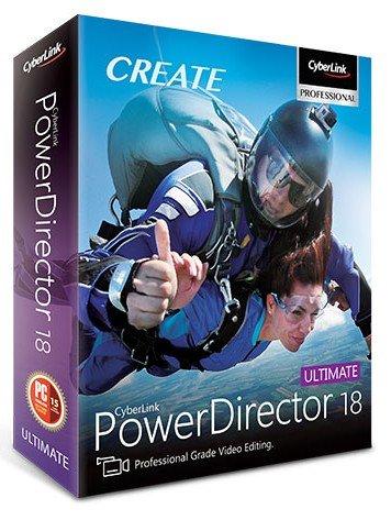 Cyberlink PowerDirector Crack 18.0.2405.0 Activation Key Download 2020