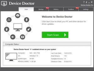 Device Doctor Pro Crack 5.0.401 + Activation Key 2020 Download Free